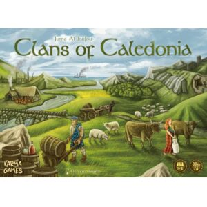 Bordspel Clans of Caladonia