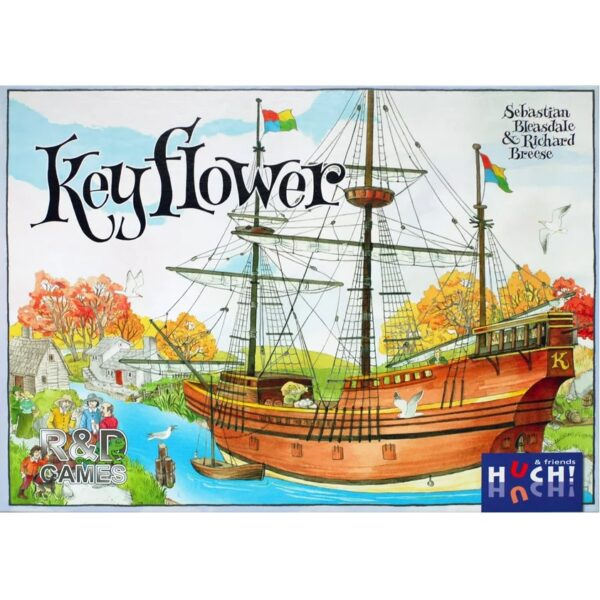 Bordspel Keyflower