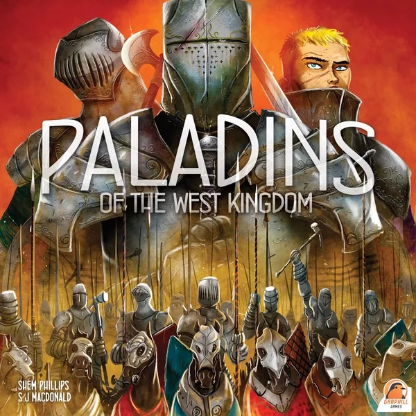 Bordspel Paladins of the West Kingdom