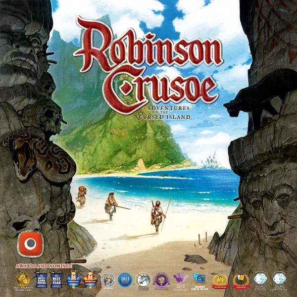Bordspel Robinson Crusoe: Adventures on the Cursed Island