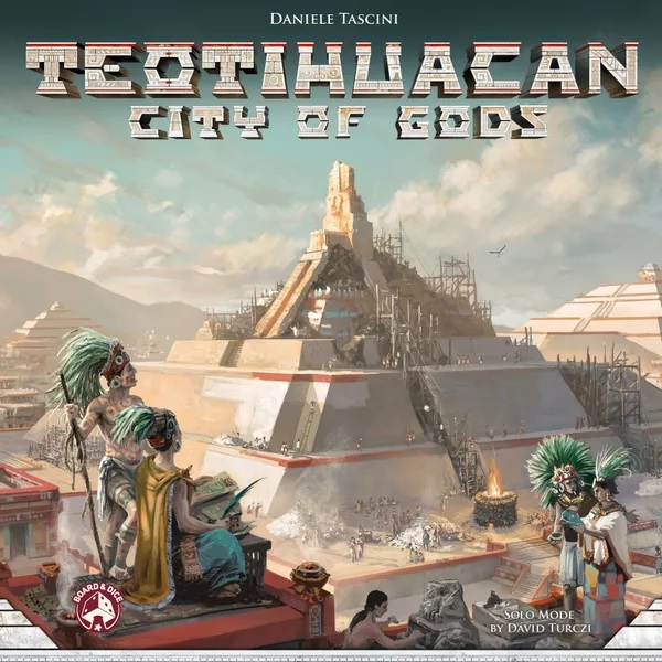 Bordspel Teotihuacan: City of Gods